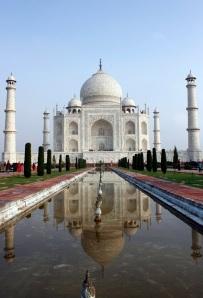 The beautiful Taj