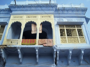 Pushkar buildings - love these colours!